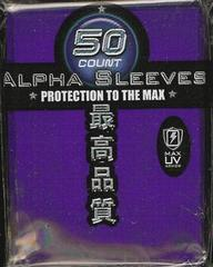 Max Protection Alpha Purple Large Sleeves