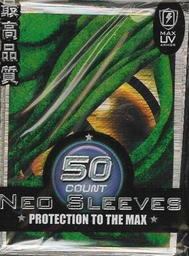 Max Protection Green Dragon Eye Large Sleeves