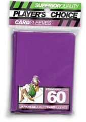 Player's Choice Standard Purple Sleeves