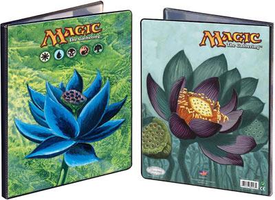 9 Pocket Portfolio Black Lotus / Lotus Bloom