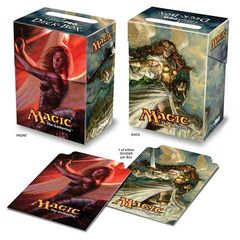 Magic 2010 Baneslayer Angel Treason Deck Box on Channel Fireball