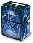 Deck Box Navy Blue Diamond Dragon