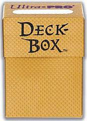 Deck Box Textured Gold