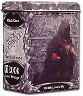 Rook Capsule Artist Series (Gallery One) Steel Alloy Deck Case - Death Loves Me - Todd Lockwood