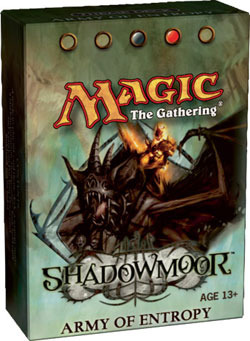 Shadowmoor Army of Entropy Precon Theme Deck
