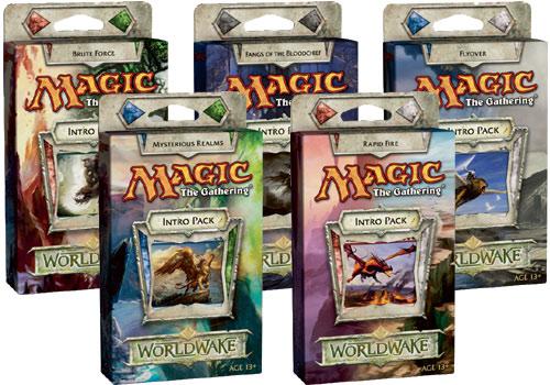 All 5 Worldwake Intro Packs