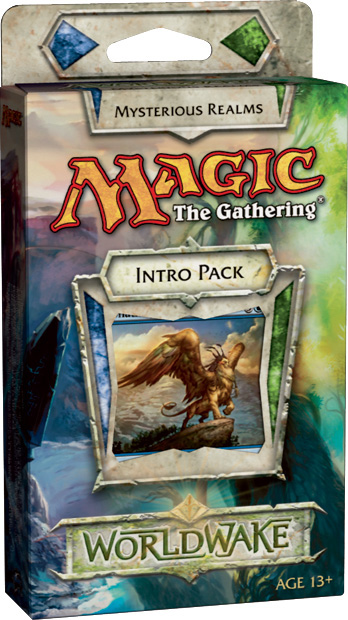 MTG Worldwake Intro Pack: Mysterious Realms