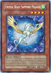 Crystal Beast Sapphire Pegasus - CT04-EN002 - Secret Rare - Limited Edition