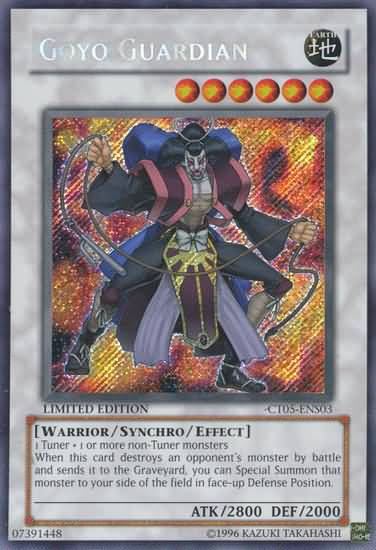 Goyo Guardian - CT05-ENS03 - Secret Rare - Limited Edition - Promo