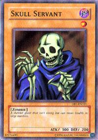 Skull Servant - DB1-EN101 - Common - Unlimited Edition