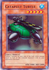 Catapult Turtle - DB2-EN047 - Super Rare - Unlimited Edition on Channel Fireball