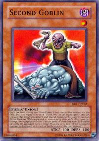 Second Goblin - DR1-EN068 - Common - Unlimited Edition