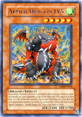 Armed Dragon LV5 - DR3-EN014 - Rare - Unlimited Edition
