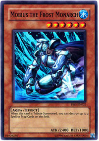 Mobius the Frost Monarch - DR3-EN022 - Super Rare - Unlimited Edition
