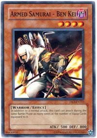 Armed Samurai - Ben Kei - DR3-EN143 - Common - Unlimited Edition