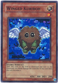 Winged Kuriboh - DR3-EN185 - Super Rare - Unlimited Edition