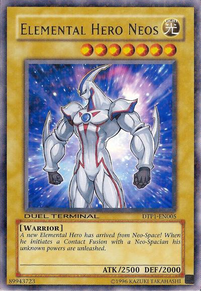 Elemental Hero Neos - DTP1-EN005 - Parallel Rare - Duel Terminal