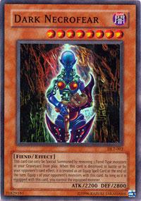 Dark Necrofear - DL2-002 - Super Rare - Limited Edition