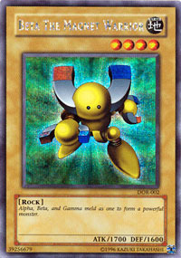 Beta the Magnet Warrior - DOR-002 - Secret Rare - Limited Edition