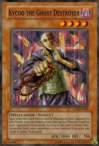 Kycoo the Ghost Destroyer - HL04-EN005 - Parallel Rare - Limited Edition