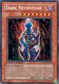 Dark Necrofear - MC1-EN005 - Secret Rare - Limited Edition