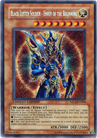 Black Luster Soldier - Envoy of the Beginning - MC2-EN004 - Secret Rare - Limited Edition