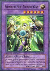 Elemental Hero Thunder Giant - MF01-EN001 - Parallel Rare - Limited Edition