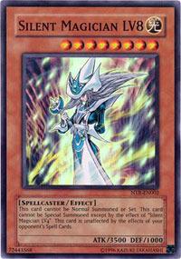 Silent Magician LV8 - NTR-EN002 - Super Rare - Promo Edition