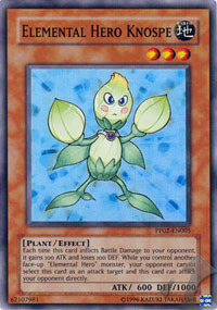 Elemental Hero Knospe - PP02-EN005 - Super Rare - Unlimited Edition