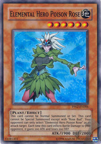 Elemental Hero Poison Rose - PP02-EN006 - Super Rare - Unlimited Edition