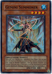 Gemini Summoner - TAEV-ENSP1 - Super Rare - Limited Edition