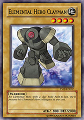Elemental Hero Clayman - YSDJ-EN007 - Common - 1st Edition