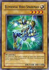 Elemental Hero Sparkman - YSDJ-EN008 - Common - 1st Edition on Channel Fireball
