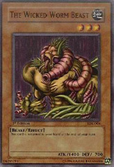 The Wicked Worm Beast - SDK-004 - Common - 1st Edition