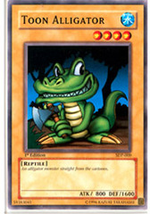 Toon Alligator - SDP-009 - Common - 1st Edition