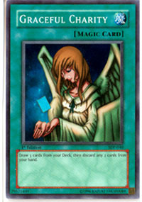 Graceful Charity - SDP-040 - Super Rare - 1st Edition