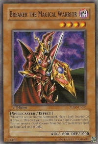Breaker the Magical Warrior - SDSC-EN011 - Common - 1st Edition