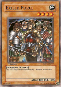 Exiled Force - SDDE-EN009 - Common - 1st Edition