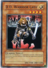 D.D. Warrior Lady - SDWS-EN009 - Common - 1st Edition on Channel Fireball