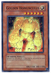 Golden Homunculus - WC6-EN001 - Super Rare - Limited Edition