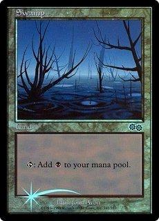 Ice Age Art Foil NM MTG Promo Arena Swamp 2001