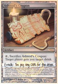 Ashnods Coupon - Arena Unhinged