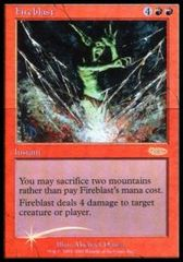 Fireblast - Foil FNM 2001 on Channel Fireball