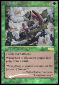 Wall of Blossoms - Foil FNM 2002