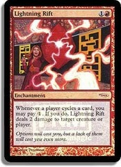 Lightning Rift - Foil FNM 2004