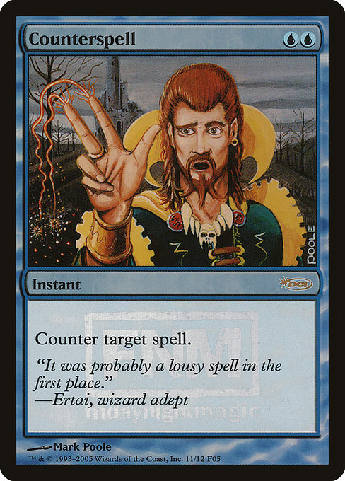 Counterspell - Foil FNM 2005