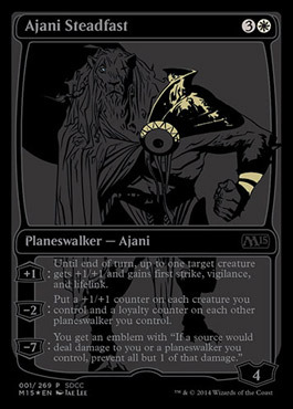 Ajani Steadfast - SDCC 2014 Exclusive Promo