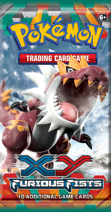 Pokemon XY3 Furious Fists Booster Pack