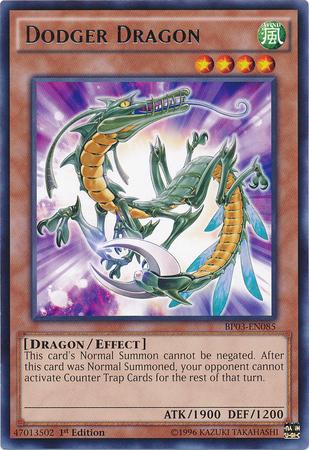 Dodger Dragon - BP03-EN085 - Rare - 1st Edition