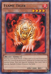 Flame Tiger - BP03-EN095 - Rare - 1st Edition